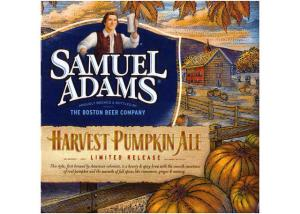 Sam Adam's Harvest Pumpkin Ale