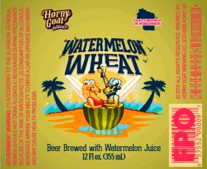 Horny Goat Watermelon Wheat