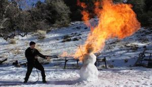 Snowman Flamethrower