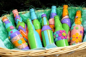 Easter Beer Basket