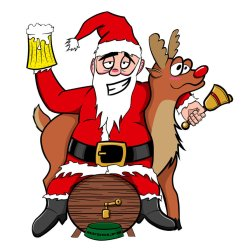 santa-with-beer
